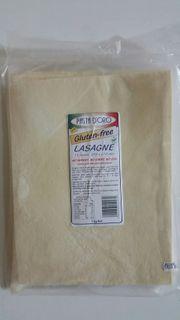 LASAGNE - SHEETS GLUTEN FREE 1kg FROZEN