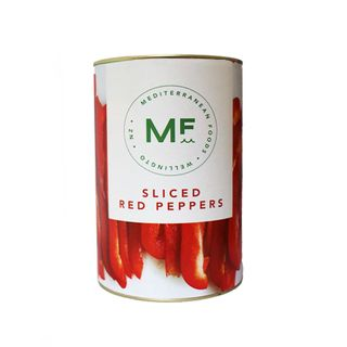 PEPPERS SLICED RED 4.5kg CAN MF BRAND