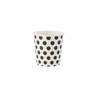 COFFEE CUP SINGLE WALL FLAGSHIP (POLKA DOT) 4oz (50 PACK) INNOCENT PACKAGING