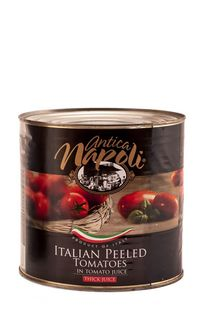 TOMATO WHOLE PEELED 2.55 kg CAN