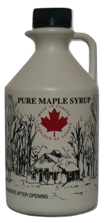 MAPLE PURE SYRUP CANADIAN 1 LITRE