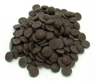 CHOCOLATE COMPOUND DARK DROPS 1KG