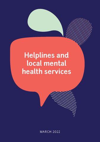 Helplines Brochure
