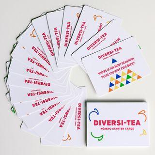 Diversi-Tea Korero Starter cards