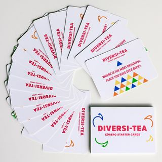 Diversi-Tea Korero Starter cards