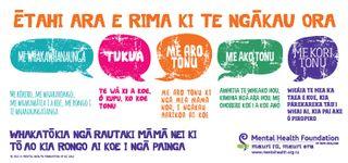 Five Ways postcard te reo Māori