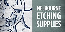 Melbourne Etching Supplies Logo