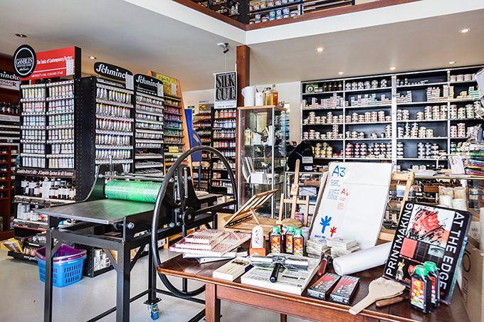 Melbourne Etching Supplies Shop