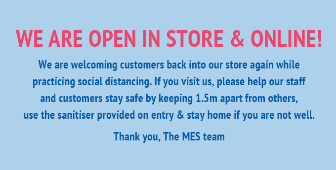 MES Covid-19 update - we are open!