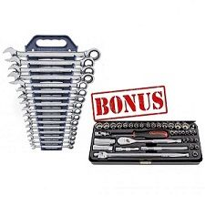 GEARWRENCH RATCHET SPANNER & SOCKET SET