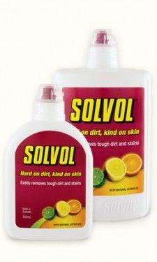 SOLVOL HAND CLEANING LIQUID 250ml