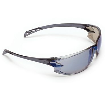 SPECTACLES SAFETY EXTREME BLUE MIRROR