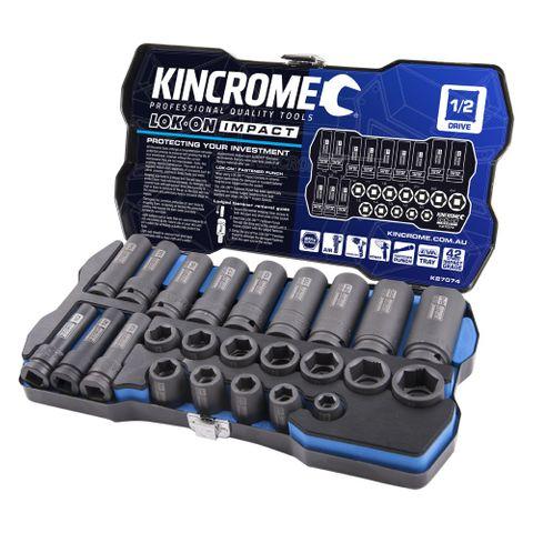 KINCROME 24P LOK-ON IMPACT SOCKET SET