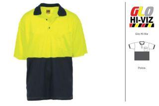 XAX Polo Top Eco-viz EYN short sleeve
