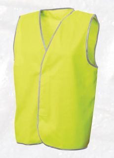 FRONTIER SAFETY VEST YELLOW DAY ONLY