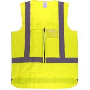 FRONTIER SAFETY VEST YELLOW DAY/NIGHT