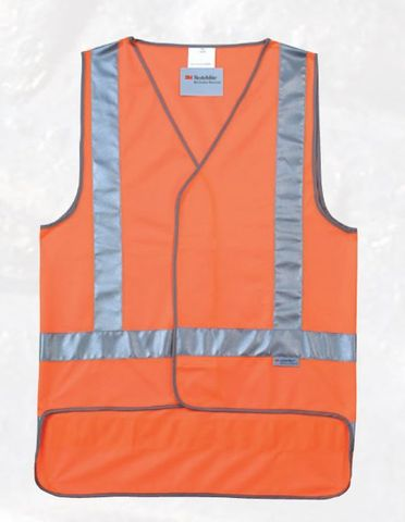 FRONTIER SAFETY VEST ORANGE DAY/NIGHT