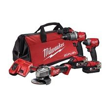 MILW M18 KIT FUEL 3PC POWER PACK 3A2