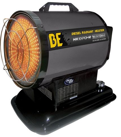 BE RADIANT DIESEL HEATER 20KW