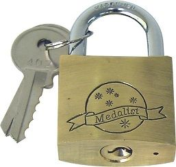 PADLOCK BRASS HEAVY DUTY 60mm
