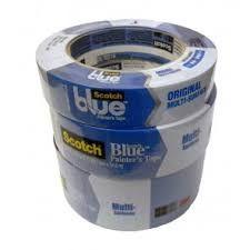 MASKING TAPE SAFE RELEASE BLUE 25mm x55m