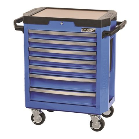 KINCROME CONTOUR 7 DRAW TROLLEY BLUE