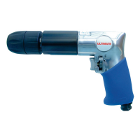 KC TOOLS AIR DRILL 1/2 KEYLESS CHUCK