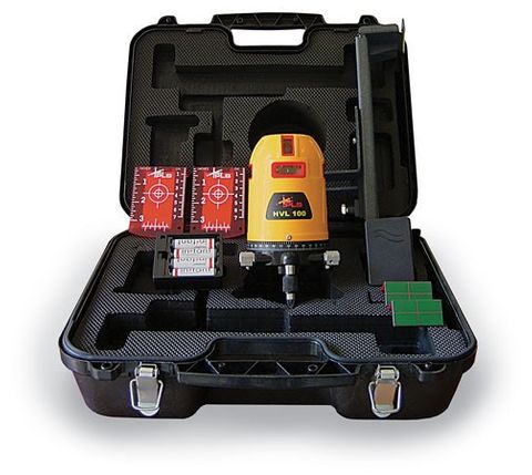 PLS HVL100 MULTILINE LASER LEVEL KIT