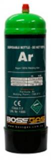 GAS BOTTLE DISPOSABLE PURE ARGON 2LT