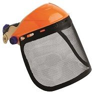 PRO SAFETY GEAR BROWGUARD W VISOR MESH
