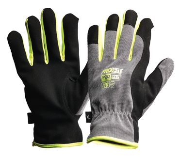GLOVE PROFIT RIGGAMATE SILVER W/LINED