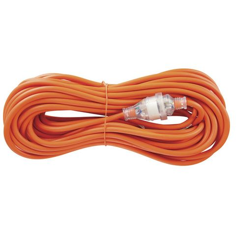 EXTENSION LEAD CARAVAN 15A/10A PLUG