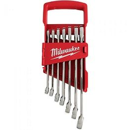 7 PIECE COMBINATION WRENCH SET - SAE