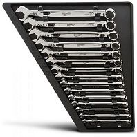15 PIECE COMBINATION WRENCH SET - METRIC