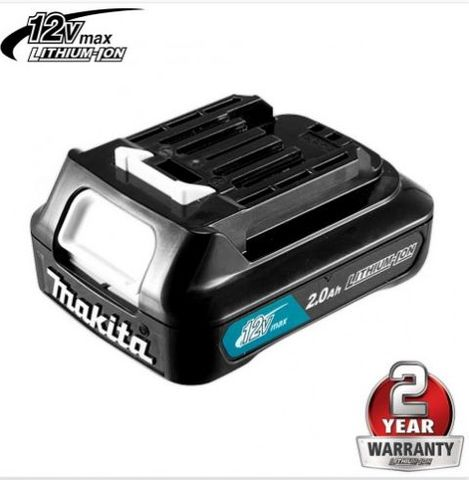 MAKITA 12V MAX 2.0AH BATTERY