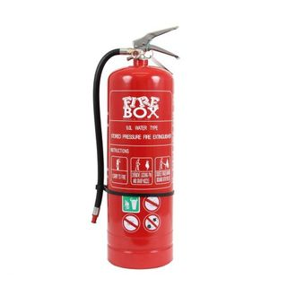 FIRE EXTINGUISHER AIR/WATER 9.0 LT