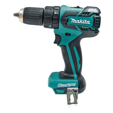 MAKITA 18V B/LESS HAMMER DRILL SKIN ONLY