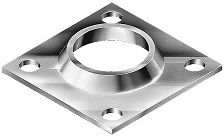 FLANGE SQUARE PIPE 40mm
