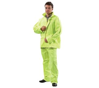 RAINSUIT FLURO YELLOW MEDIUM