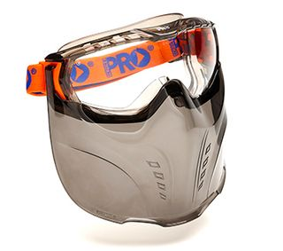 GOGGLE/MASK COMBO VADAR CLEAR