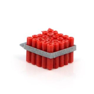 WALL PLUGS - 5.5mm x 50mm  RED (25)