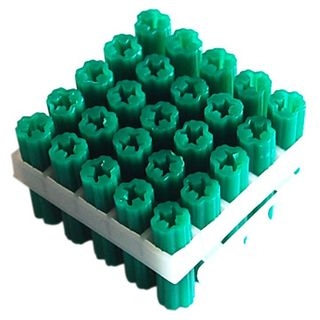 WALL PLUGS - 6.5mm X 50mm  GREEN (25)