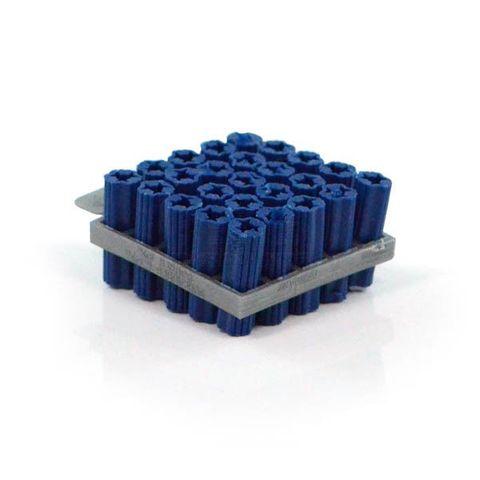 WALL PLUG FRAMES - 8mm x 50mm BLUE