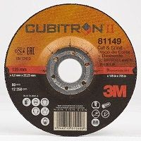 3M CUBIT CUT&GRIND 91149 125x22.23x4.2MM