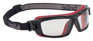 BOLLE CLEAR SAFETY SPECS/GOGGLES