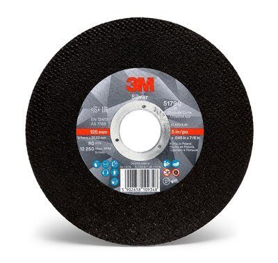 3M SILVER CUTTING WHEEL 100 X 1 X 16MM