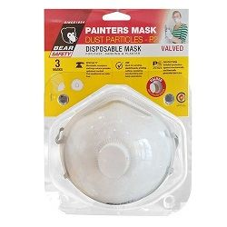 BEAR MASK P2 WITH VALVE 3PACK