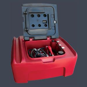 DIESEL TANK 400L LOCKABLE W/ 52000 KIT