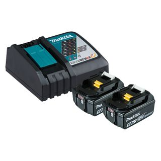 MAKITA RAPID CHARGER + 2X 5AH BATTERIES