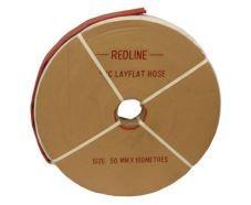 LAY FLAT REDLINE PVC 50MM HOSE